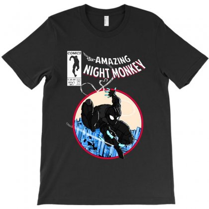Amazing Night Spider T-shirt Designed By Mirazjason
