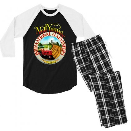Neil Young Harvesters Men's 3/4 Sleeve Pajama Set Designed By Mirazjason