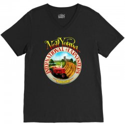 neil young harvesters V-Neck Tee | Artistshot