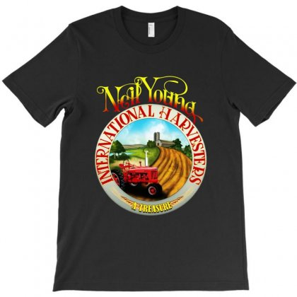 Neil Young Harvesters T-shirt Designed By Mirazjason