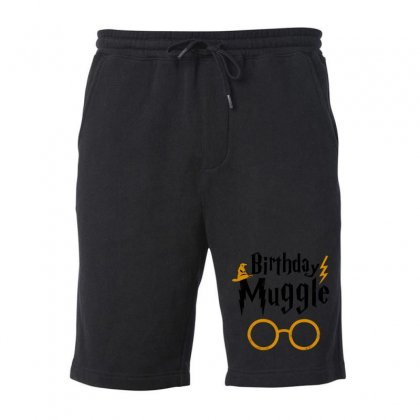 Birthday Muggle Funny Fleece Short Designed By Mirazjason