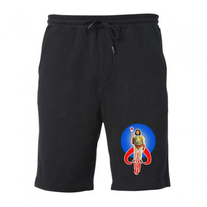 Boba Che Fleece Short Designed By Mirazjason