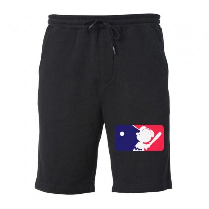 Peanuts League Baseball Fleece Short Designed By Mirazjason