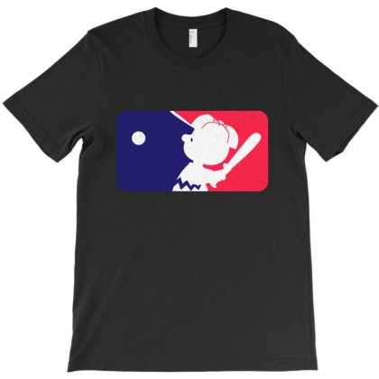 Peanuts League Baseball T-shirt Designed By Mirazjason