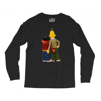 Real Love Bert And Ernie Long Sleeve Shirts Designed By Mirazjason