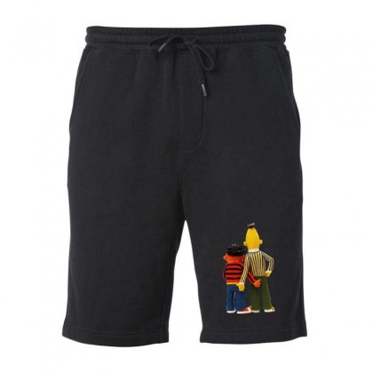 Real Love Bert And Ernie Fleece Short Designed By Mirazjason