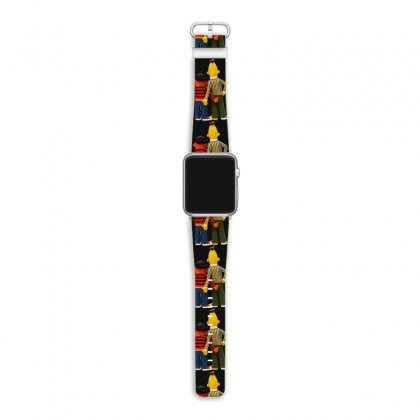 Real Love Bert And Ernie Apple Watch Band Designed By Mirazjason