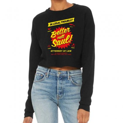 Better Call Saul Cropped Sweater Designed By Mirazjason