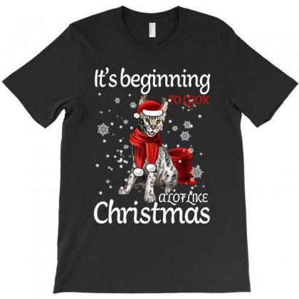 It's Beginning To Look A Lot Like Christmas For Dark T-shirt Designed By Sengul