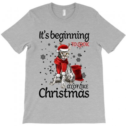 It's Beginning To Look A Lot Like Christmas For Light T-shirt Designed By Sengul
