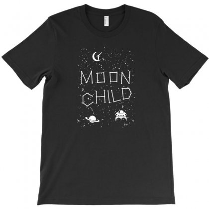 Moon Child T-shirt Designed By Disgus_thing