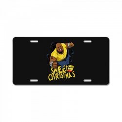 sweet christmas License Plate | Artistshot