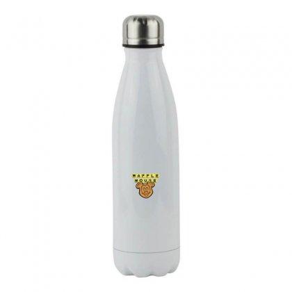 Waffle Mouse Stainless Steel Water Bottle Designed By Meganphoebe