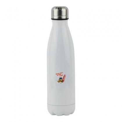 Call My School   Tell Them I Died! Stainless Steel Water Bottle Designed By Meganphoebe