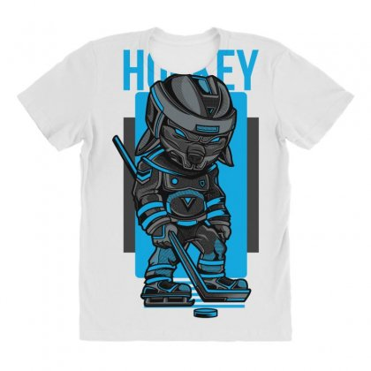 Hockey Game All Over Women's T-shirt Designed By Daraart
