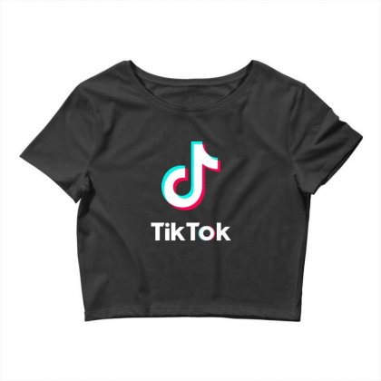 Tiktok Merchandise Crop Top Designed By Donaagnesia