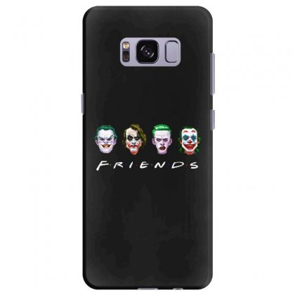 Joker Friends   For Dark Samsung Galaxy S8 Plus Case Designed By Meganphoebe