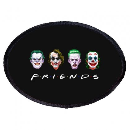 Joker Friends   For Dark Oval Patch Designed By Meganphoebe