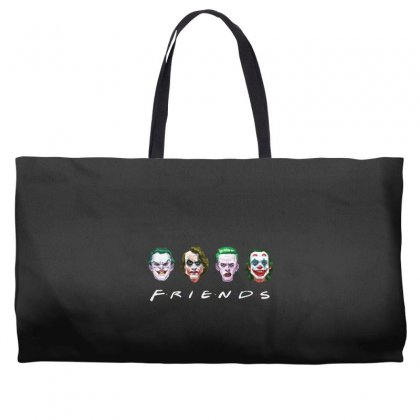 Joker Friends   For Dark Weekender Totes Designed By Meganphoebe