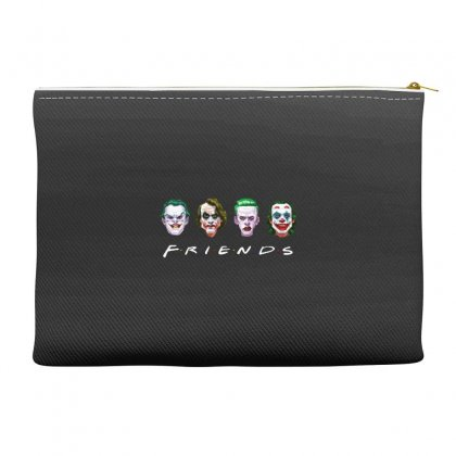 Joker Friends   For Dark Accessory Pouches Designed By Meganphoebe