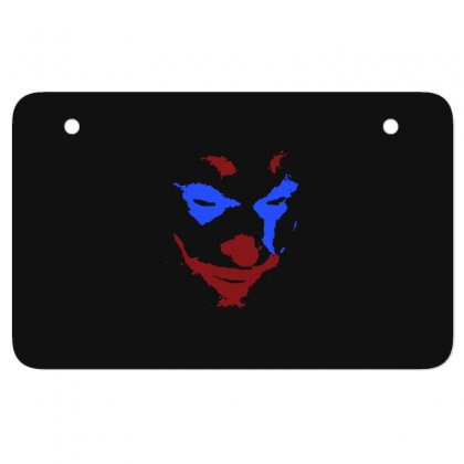 Funny Joker Face Atv License Plate Designed By Meganphoebe