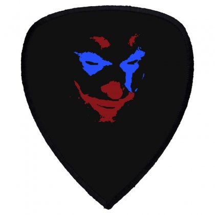 Funny Joker Face Shield S Patch Designed By Meganphoebe