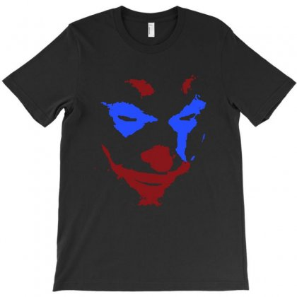 Funny Joker Face T-shirt Designed By Meganphoebe
