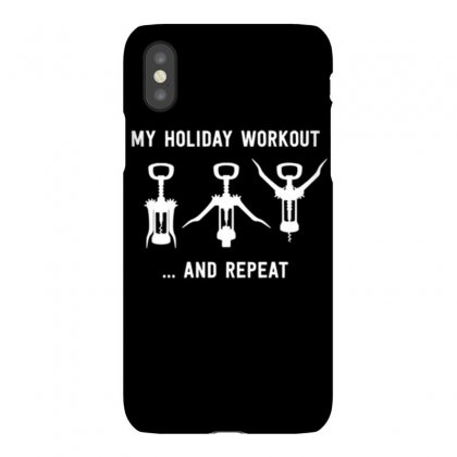 Holiday Workout Iphonex Case Designed By Daraart