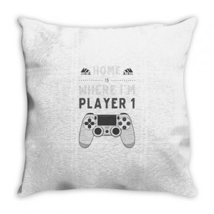 Home Player Throw Pillow Designed By Daraart