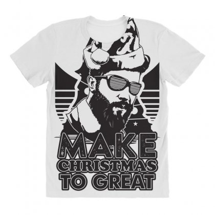 Christmas Party All Over Women's T-shirt Designed By Ca Si Kancil