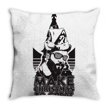Christmas Party Throw Pillow Designed By Ca Si Kancil