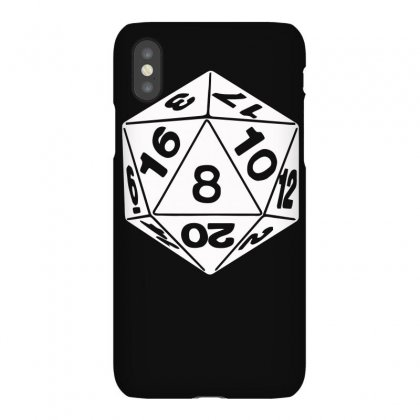 20 Sided Die Funny Iphonex Case Designed By Erryshop