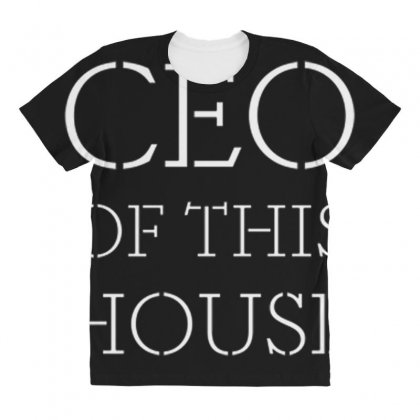 Household Ceo All Over Women's T-shirt Designed By Daraart
