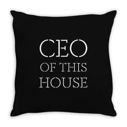 Household Ceo Throw Pillow Designed By Daraart