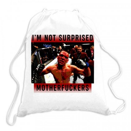 I'm Not Surprised Motherfuckers Drawstring Bags Designed By Meganphoebe