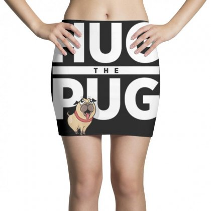 Hug The Pug Mini Skirts Designed By Daraart