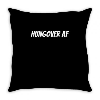 Hungoveraf Throw Pillow Designed By Daraart