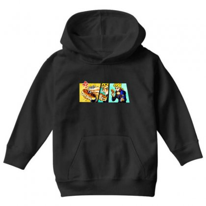 Giorno's Bizarre Youth Hoodie Designed By Meganphoebe