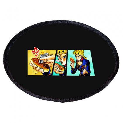 Giorno's Bizarre Oval Patch Designed By Meganphoebe