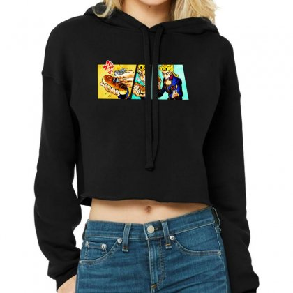 Giorno's Bizarre Cropped Hoodie Designed By Meganphoebe