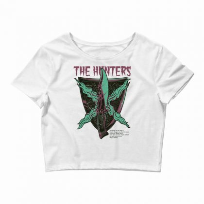 Hunter Crop Top Designed By Daraart