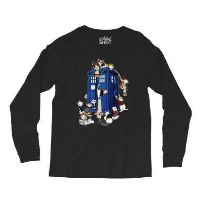 Funny Doctor Meow Long Sleeve Shirts Designed By Meganphoebe