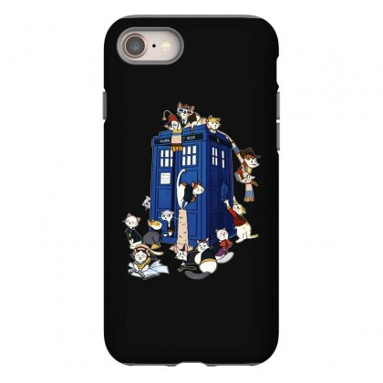 Funny Doctor Meow Iphone 8 Case Designed By Meganphoebe