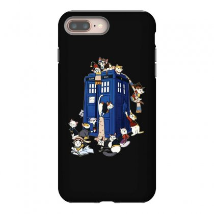 Funny Doctor Meow Iphone 8 Plus Case Designed By Meganphoebe
