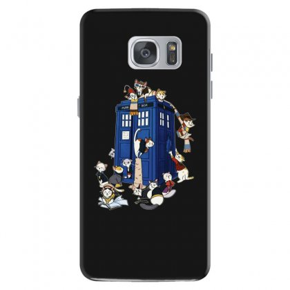 Funny Doctor Meow Samsung Galaxy S7 Case Designed By Meganphoebe