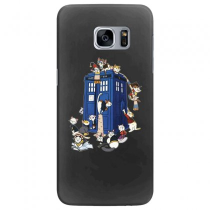 Funny Doctor Meow Samsung Galaxy S7 Edge Case Designed By Meganphoebe