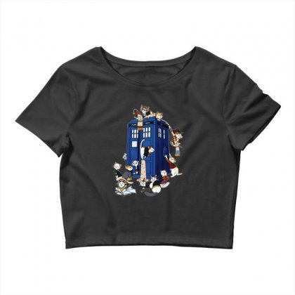 Funny Doctor Meow Crop Top Designed By Meganphoebe
