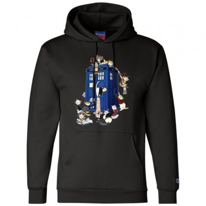 Funny Doctor Meow Champion Hoodie Designed By Meganphoebe