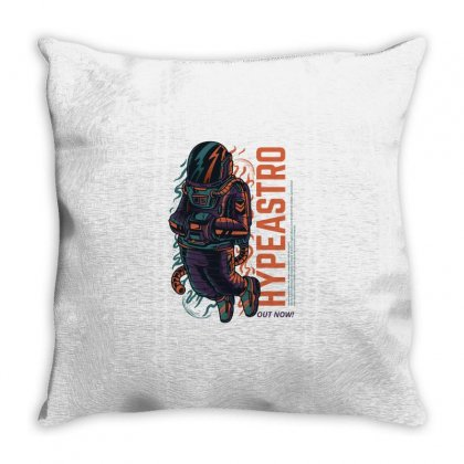 Hype Astro Throw Pillow Designed By Daraart