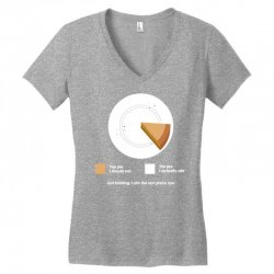 i ate the pie Women's V-Neck T-Shirt | Artistshot